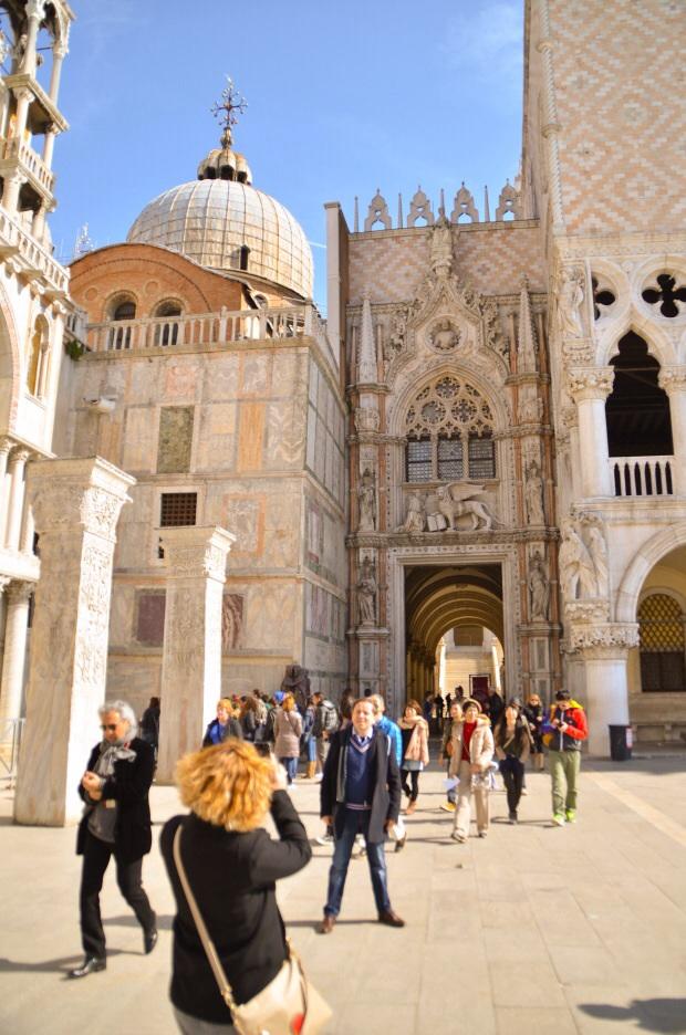 Tourist at San Marco Venice